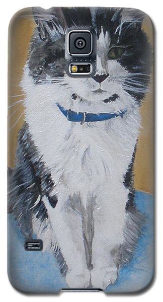 Galaxy S5 Case featuring the painting Sammy by Betty-Anne McDonald