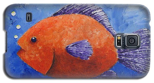 Galaxy S5 Case featuring the painting Sammy by Suzanne Theis