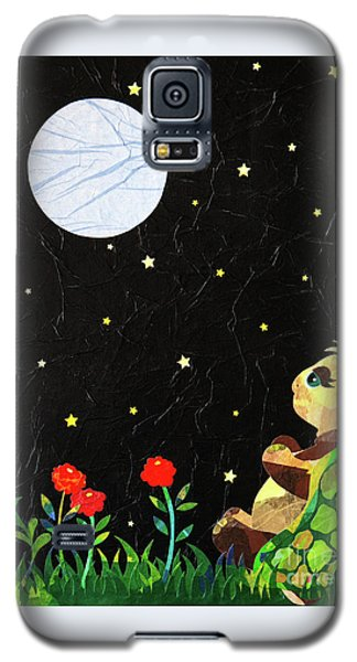 Galaxy S5 Case featuring the mixed media Sammy's Solitude by Diane Miller