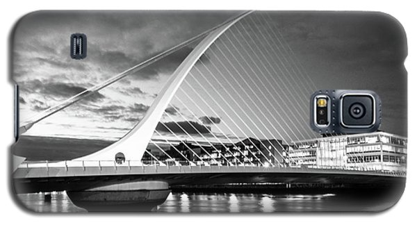 Samuel Beckett Bridge In Bw Galaxy S5 Case