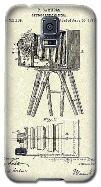 Samuels Photographic Camera 1885 Patent Art Galaxy S5 Case