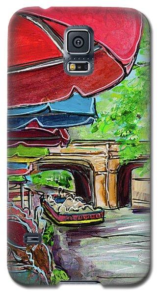 San Antonio River Walk Cafe Galaxy S5 Case