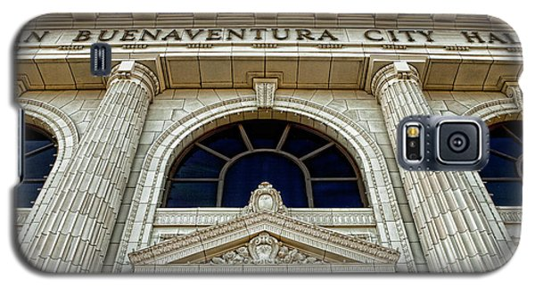 Galaxy S5 Case featuring the photograph San Buenaventura City Hall by John A Rodriguez