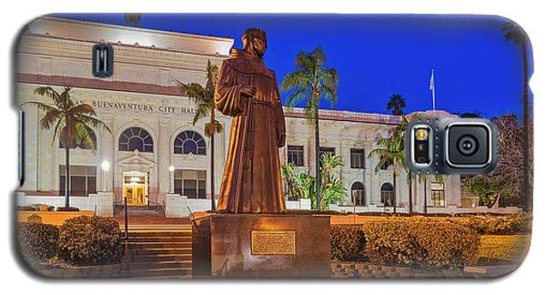 Galaxy S5 Case featuring the photograph San Buenaventura City Hall by Susan Candelario