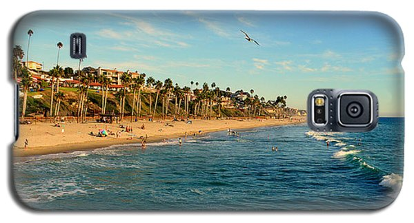 Galaxy S5 Case featuring the photograph San Clemente Coastline - California by Glenn McCarthy Art and Photography