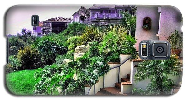 San Clemente Estate Backyard Galaxy S5 Case