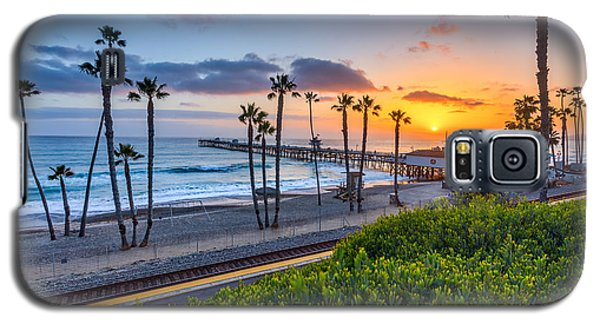 San Clemente Galaxy S5 Case by Peter Tellone