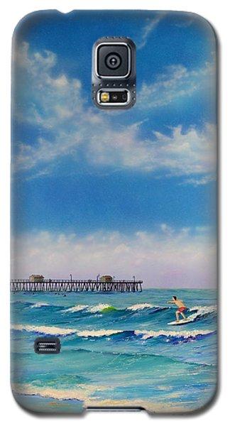 San Clemente Surf Galaxy S5 Case
