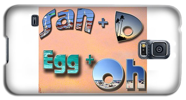 San D Egg Oh Galaxy S5 Case by Christopher Woods