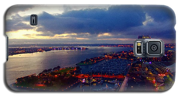 San Diego By Night Galaxy S5 Case by Glenn McCarthy Art and Photography