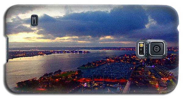 San Diego By Night Galaxy S5 Case