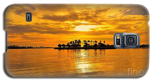 San Diego Golden Sky By Jasna Gopic Galaxy S5 Case