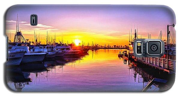 San Diego Harbor Sunrise Galaxy S5 Case