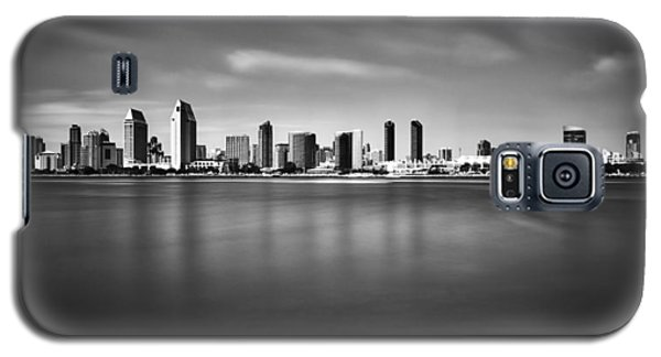 San Diego Skyline - Black And White Galaxy S5 Case