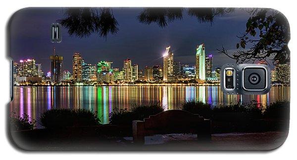Galaxy S5 Case featuring the photograph San Diego Skyline by Eddie Yerkish