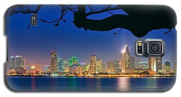 San Diego Skyline From Bay View Park In Coronado Galaxy S5 Case