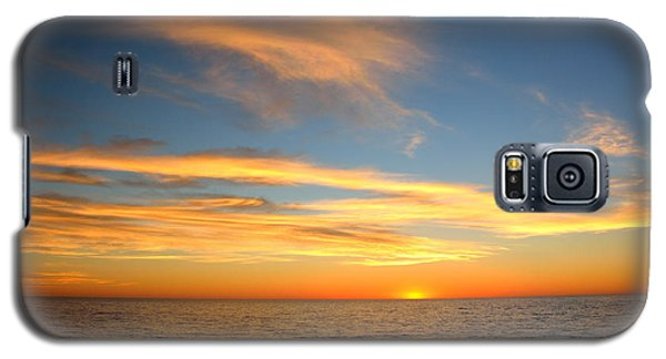 Galaxy S5 Case featuring the photograph San Diego Sunrise by Susan D Moody
