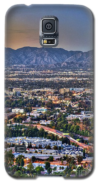 San Fernando Valley Vertical Galaxy S5 Case by David Zanzinger