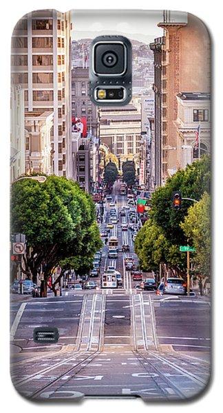 San Fran Cable Car Galaxy S5 Case