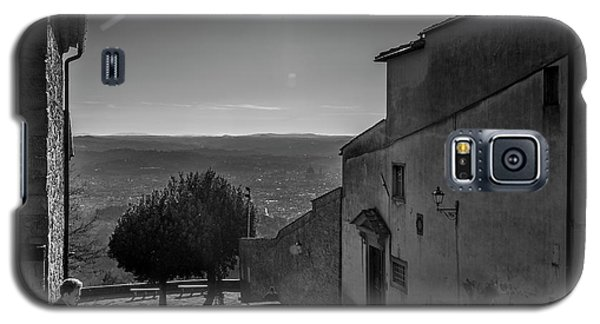 Galaxy S5 Case featuring the photograph San Francesco Monastery - Fiesole, Italia. by Sonny Marcyan