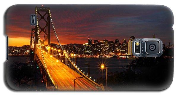 San Francisco Bay Bridge At Sunset Galaxy S5 Case