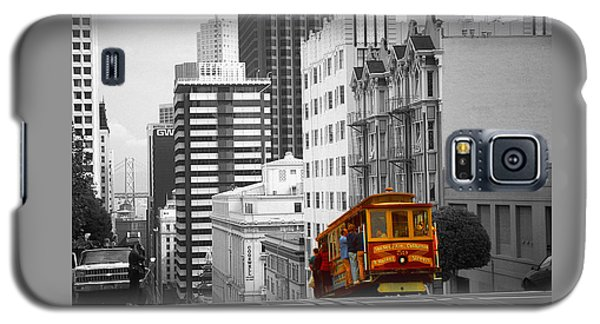 San Francisco - Red Cable Car Galaxy S5 Case