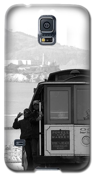 San Francisco Cable Car With Alcatraz Galaxy S5 Case