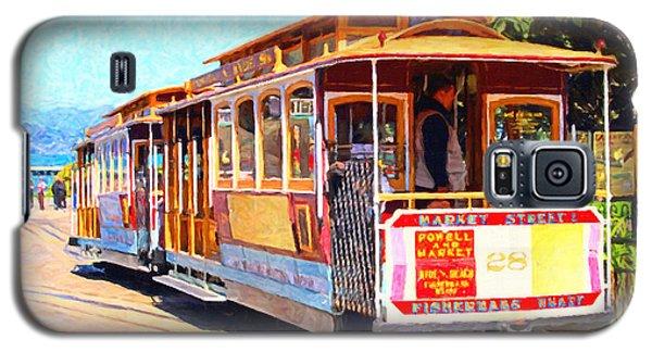 San Francisco Cablecar At Fishermans Wharf . 7d14097 Galaxy S5 Case