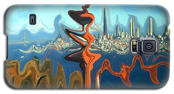 San Francisco Earthquake - Modern Art Galaxy S5 Case