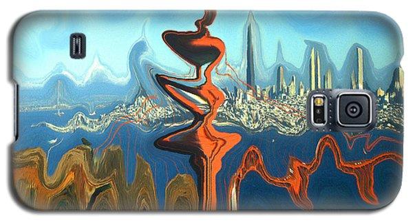 San Francisco Earthquake - Modern Artwork Galaxy S5 Case