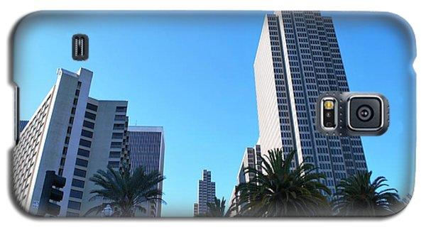 San Francisco Embarcadero Center Galaxy S5 Case by Matt Harang