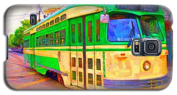 San Francisco F-line Trolley Galaxy S5 Case
