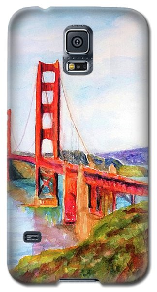 San Francisco Golden Gate Bridge Impressionism Galaxy S5 Case