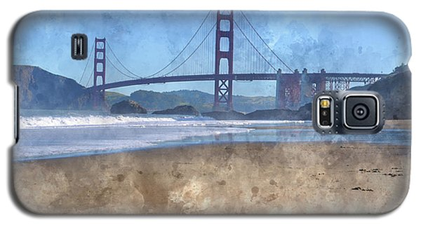 San Francisco Golden Gate Bridge In California Galaxy S5 Case