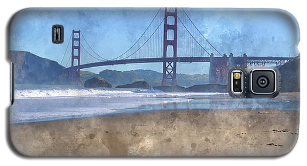 San Francisco Golden Gate Bridge In California Galaxy S5 Case