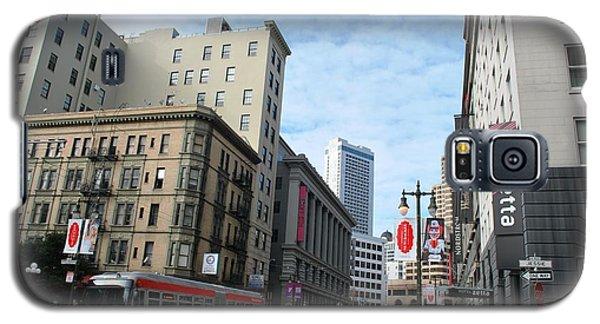 San Francisco - Jessie Street View Galaxy S5 Case by Matt Harang