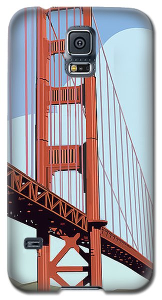 San Francisco Poster  Galaxy S5 Case