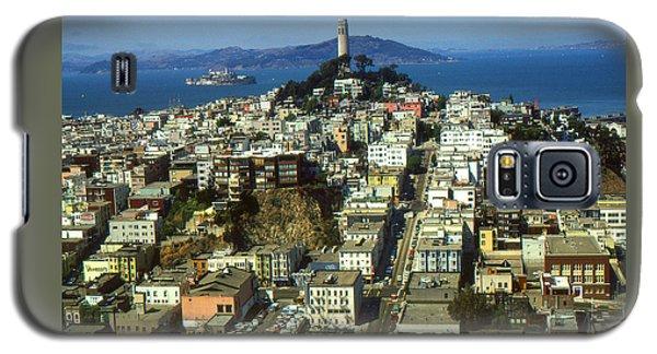 San Francisco - Telegraph Hill And Alcatraz Galaxy S5 Case