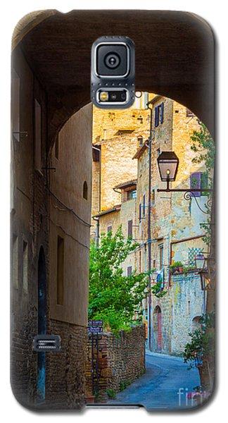 San Gimignano Archway Galaxy S5 Case