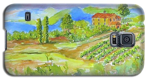 Vineyard At San Gimignano Galaxy S5 Case