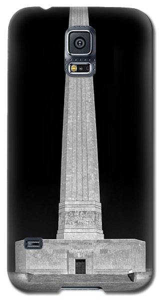 Galaxy S5 Case featuring the photograph San Jacinto Star Black And White by Joshua House