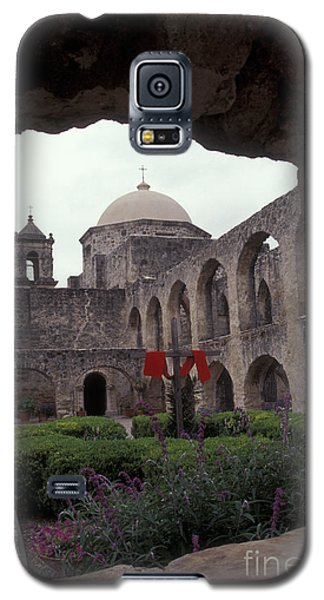 San Jose Mission Courtyard San Antonio Texas  Galaxy S5 Case