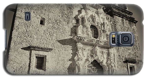 Galaxy S5 Case featuring the photograph San Jose Mission - San Antonio by Stephen Stookey