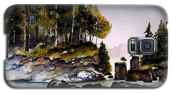 Galaxy S5 Case featuring the painting San Josef Bay by Marti Green