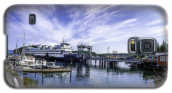San Juan Island Ferry Galaxy S5 Case by Gordon Engebretson
