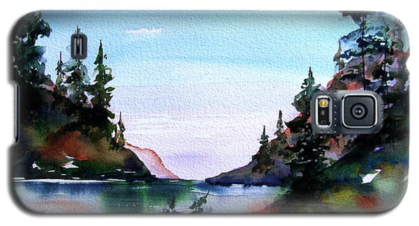 Galaxy S5 Case featuring the painting San Juan Island by Marti Green