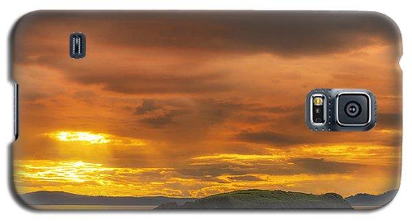 San Juan Islands Golden Hour Galaxy S5 Case by Ryan Manuel