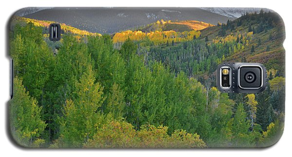 Galaxy S5 Case featuring the photograph San Juan Mountain Sunset by Ray Mathis