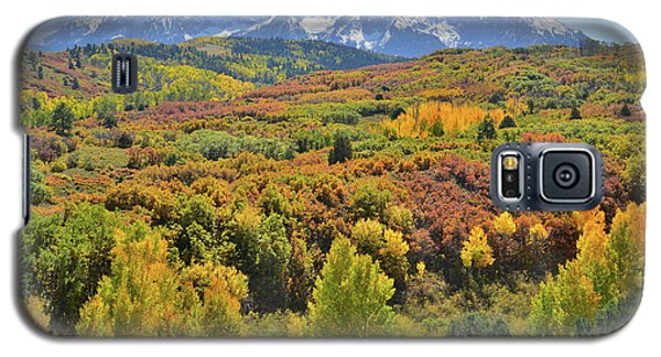 Galaxy S5 Case featuring the photograph San Juan Mountains From Dallas Divide by Ray Mathis