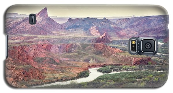 San Juan River And Mule's Ear Galaxy S5 Case